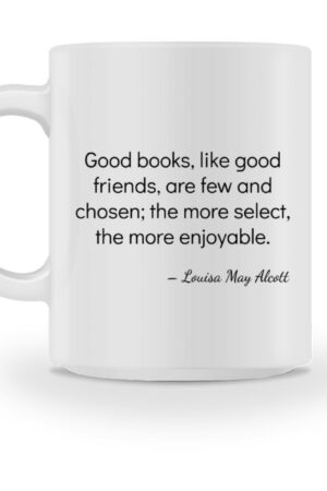 Mok-Louisa May Alcott - mug-3