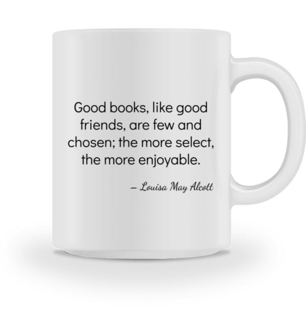 Mok-Louisa May Alcott - mug-3